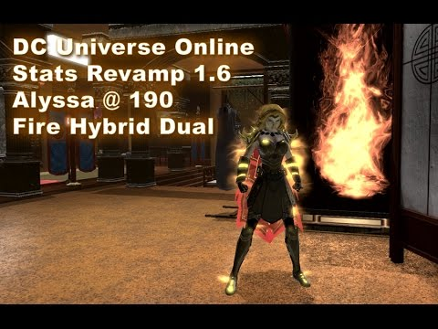DCUO Stats Revamp 1.6: Battle Tank Beta