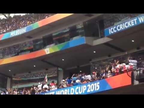 Sachin Tendulkar at MCG  2015  ICC Cricket World cup Melbourne Australia