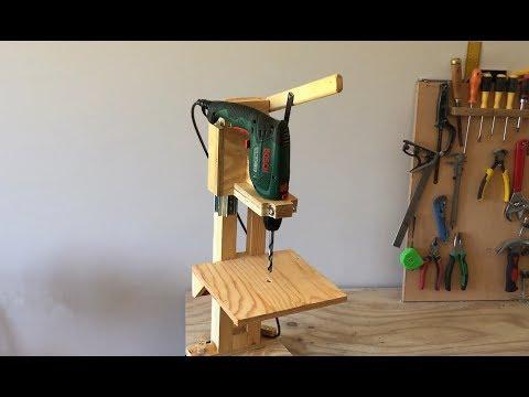 4 in 1 Drill Press Build Pt1 : The Drill Press  /  4 in 1 Sütun Matkap 1. Bölüm