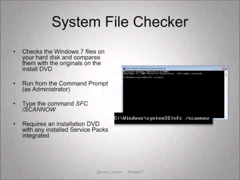 Troubleshooting Windows 7 Webcast - Part 2 of 4