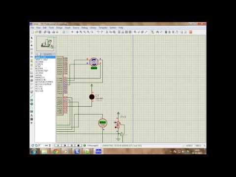DC motor control using 89C51 microcontroller