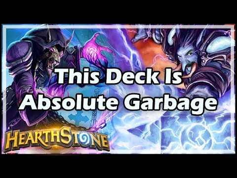 [Hearthstone] This Deck Is Absolute Garbage