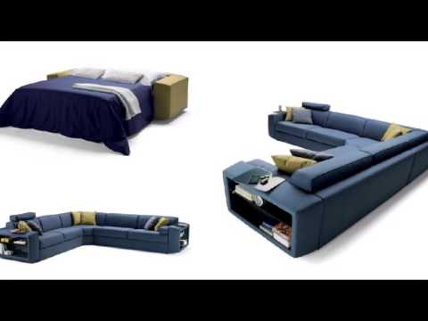 Italian Automatic Sofa Bed [Lampo motion]