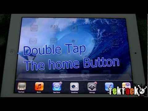 How to close an app on iPad/iPhone/iPod- Tektack.com