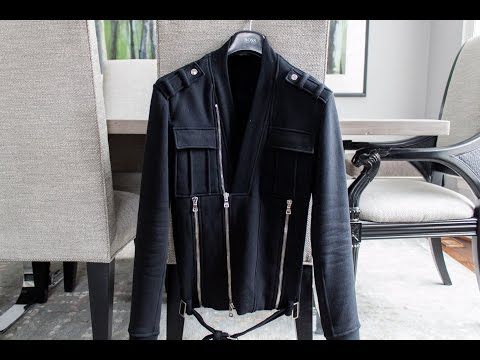 Balmain biker sweater review