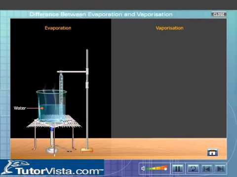 Difference Between Evaporation and Vaporization