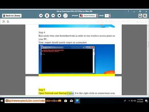Set up Trust.Zone L2TP/IPSec VPN on XBox 360