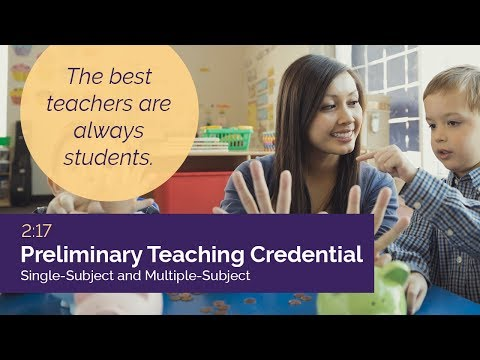 Teaching Credential Programs at Cal Lutheran