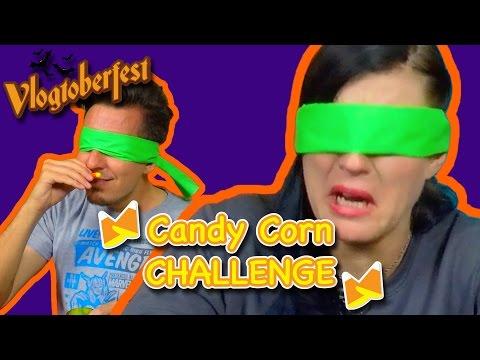 The Candy Corn Challenge - Vlogtoberfest