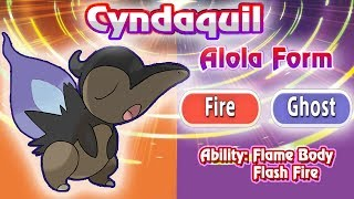 Cyndaquil, Totodile, and Chikorita Receive Alolan Forms In Ultra Sun and Ultra Moon!!! [Fanmade]