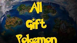 Pokemon Sun and Moon Mystery Gift   Daikhlo