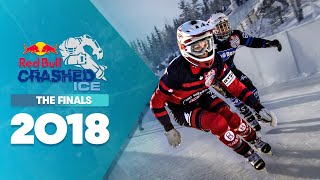 One of the most dramatic finals ofRed Bull Crashed Ice 2018