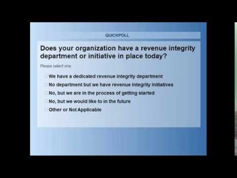 Value Cycle Excellence: Creating a Revenue Integrity Culture