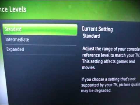 Xbox 360 Display Settings: Composite, HDMI and VGA