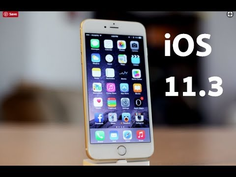 iOS 11.3 Review! What's New?