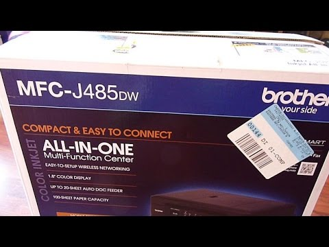 Brother MFC-J485DW Airprint Set Up For Windows, Mac and iOS