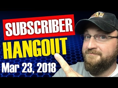 CF LIVE! | SUBSCRIBER HANGOUT | Q&A | LIVE STREAM CHANNEL REVIEWS