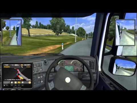 Euro Truck Simulator 2 - Episode 2 - Sheffield - Amsterdam Begins!