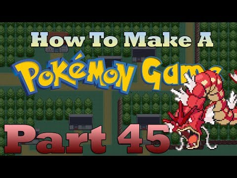 How To Make a Pokemon Game in RPG Maker - Part 45: Editing Pokemon with Events