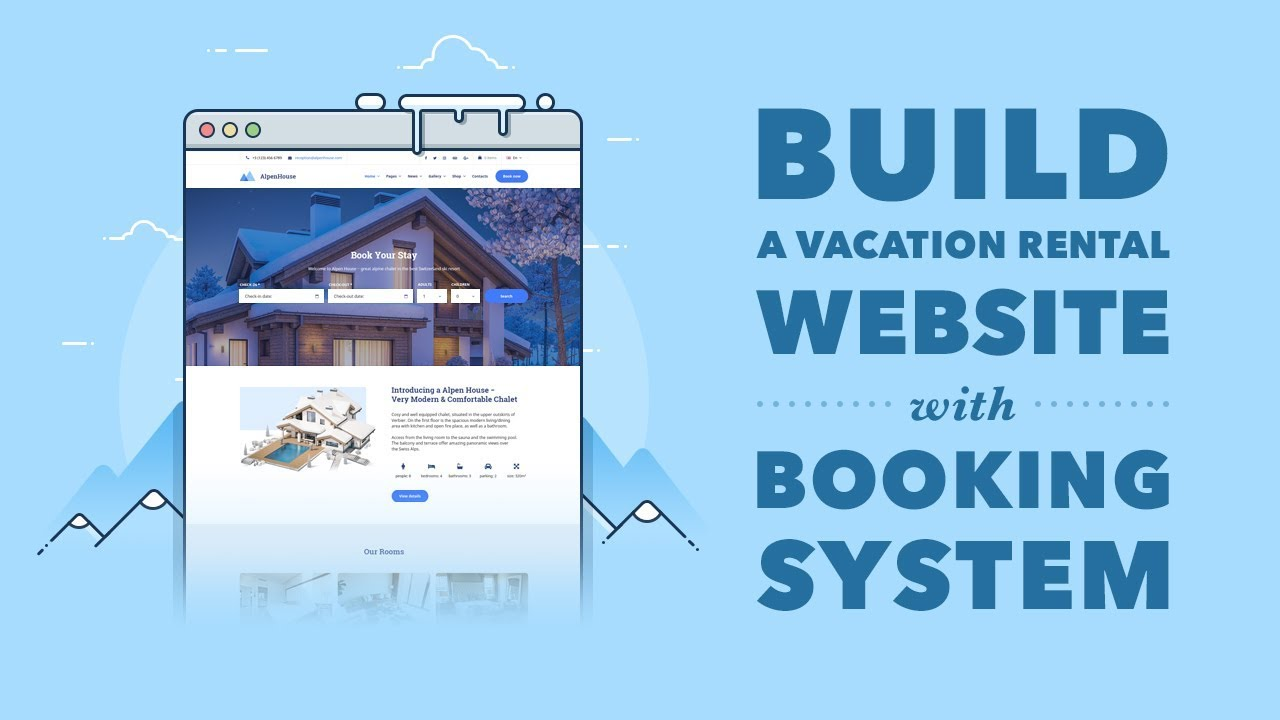 How to Create a Vacation Rental WordPress Website with AlpenHouse Theme