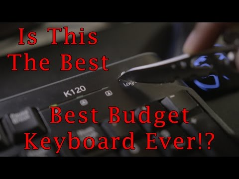 Best Budget Keyboard ($13)!? Logitech K120 Review!