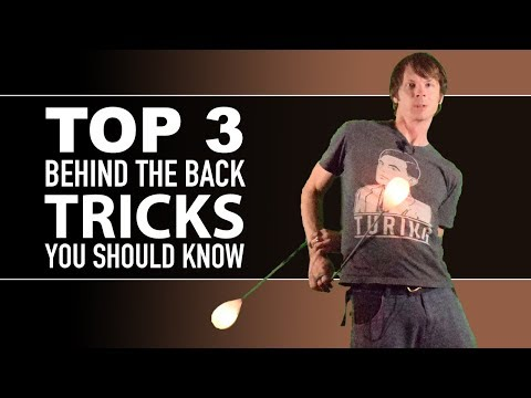 Top 3 Behind the Back Poi Spinning Tricks You Should Know