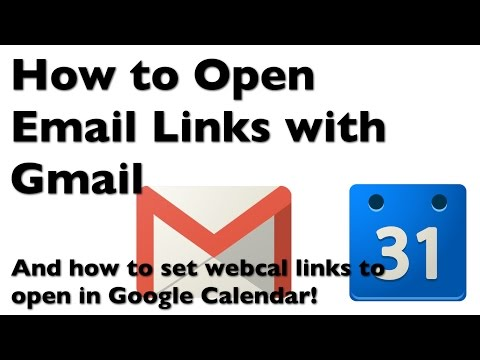 How to Make Email Links (mailto) Open in Gmail (and how to open webcal with Google Calendar!)