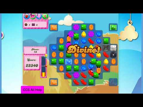 Candy Crush Saga Level 1594 35 moves NO BOOSTERS Cookie