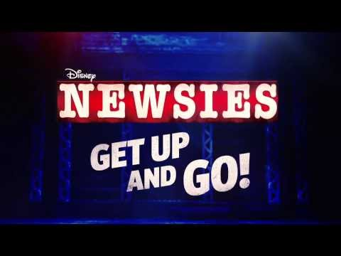 Disney's NEWSIES On Broadway - Get Up and Go!