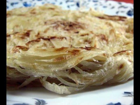 How To Make Layered Soft Parotta Laccha paratha (Multi-layered Indian flat bread)  recipe