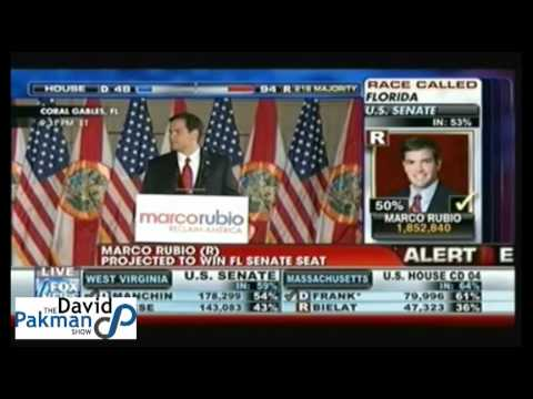 Marco Rubio Victory Speech, Republican, Florida Senate Election 2010