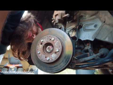 8th Gen Honda Civic Brake Rotor & Pad Replacement (2006-2011) Tutorial