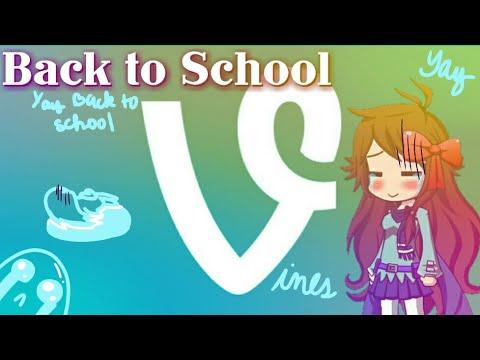 Gacha Studio | Back to School Vines | Cursing Warning |