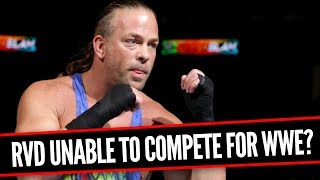ROB VAN DAM DONE WITH WWE? Going In Raw 12/6/17