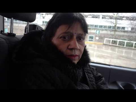 Aruna & Hari Sharma in Radisson Hotel Shuttle from Vancouver Airport to Hotel, Jan 19, 2018