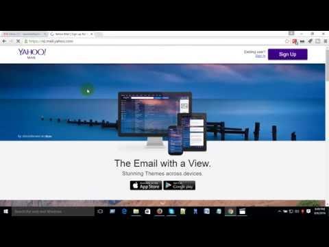 How to create yahoo mail IIaccount 2016II bd