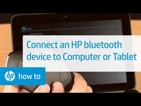 How to Connect an HP Bluetooth Device to Your Computer or Tablet