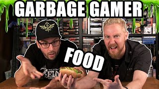 GARBAGE GAMER FOOD - Happy Console Gamer