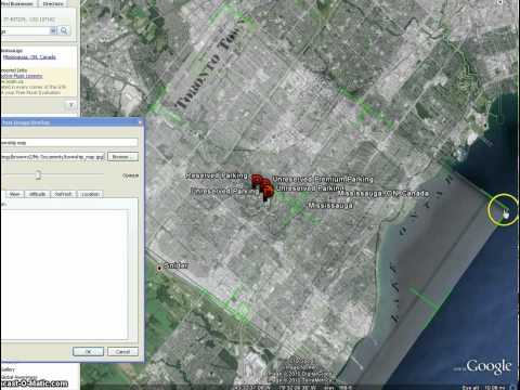 Adding Image Overlays in Google Earth