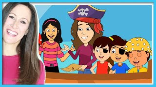 Come Sail Away With Me!   Pirate Song   Children, Kids and Toddler Song   Patty Shukla