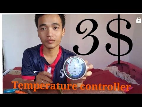 DIY homemade temperature  controller only 3$ diy