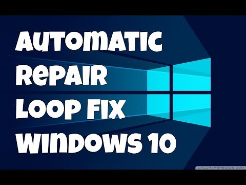 Automatic Repair Loop Fix Windows 10