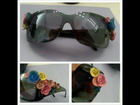 DIY: D&G inspired floral sunglasses