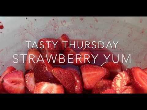 Homemade strawberries in their own juice - a Tasty Thursday video