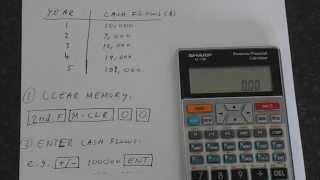 Sharp El 738 Internal Rate Of Return Irr
