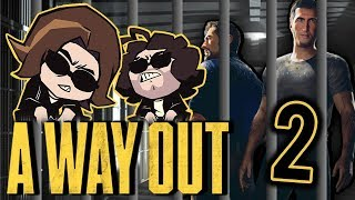 A Way Out: Fight Fight Fight! - PART 2 - Game Grumps