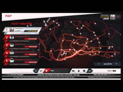 How To Find All The Cars On Need For Speed Most Wanted!