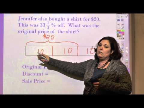 Finding Original Price