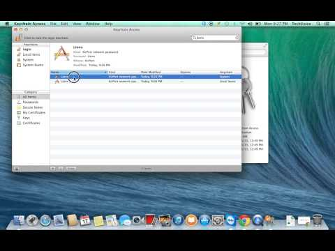 Retrieving Network Password from Lion OSX