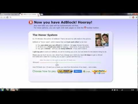 How To Get Rid Of All Ads From Web Browsers  ✰✰✰✰